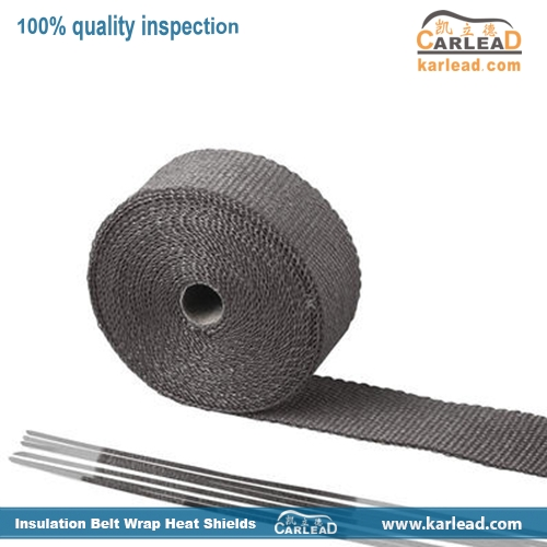 Basalt Fiber Exhaust Wrap