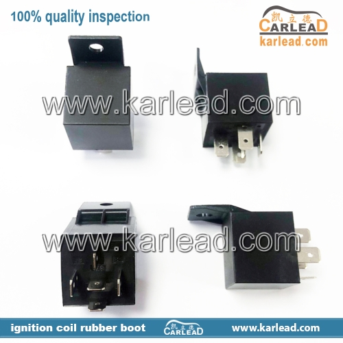 5-pin 40A waterproof car relay Normally open DC 12V / 24V relay for Head Light Air Conditioner
